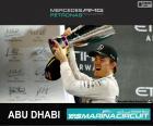 Rosberg Grand Prix Abu Zabi 2015