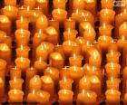 Wiele świeczki zapalił na Boże Narodzenie