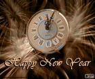 Nowy rok zegar