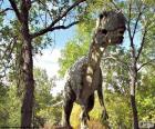 Wielki dinozaur dowodzenie
