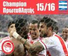 Olympiacos FC mistrz 2015-2016