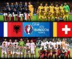 Grupa A, Euro 2016
