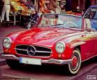 Mercedes-Benz 190 SL Roadster supersamochód produkowany w latach 1955-1963