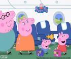 Wakacje rodziny Peppa Pig
