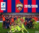 CSKA Moskwa, Champion League Premier 2015-2016, rosyjski football league
