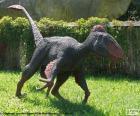 Utahraptor, miał wielkie pazury prawie 30 centymetrów, które był przerażający drapieżnikiem