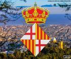 Herb miasta Barcelona