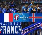 Francja vs Islandia, ćwierćfinał Euro 2016