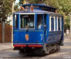 Niebieskie tramwaje (Tramvia Blau) jest tramwaj, który biegnie wzdłuż Avenida del Tibidabo Barcelona, został zainaugurowany 1901