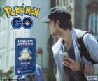 Gracz Pokémon GO wykrywa, że Pokémon został zaatakowany przez nieznanego agresora, który jest blisko i spróbuj go zlokalizować