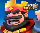 Obraz ikona Clash Royale jest królem