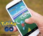Komórkowego z aplikacji Pokémon GO