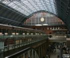 Dworca kolejowego St Pancras, Londyn