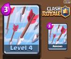 Clash Royale strzałki