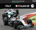 Lewis Hamilton, G.P Włochy 2016