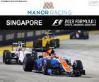 Esteban Ocon, Grand Prix Singapuru 2016