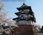 Zamek Hirosaki, Japan