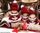 Trzy lalki Bożego Narodzenia