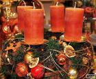 Cztery świece w centrum