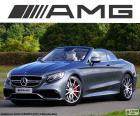 Mercedes-AMG S 63 Cabrio, samochód bardzo elegancki, z silnikiem V8 biturbo i 585 HP