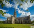 Katedra w Salisbury w Anglii