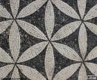 Rzymska mozaika były dla Rzymian element dekoracyjny do przestrzeni architektonicznej. Być zbudowane z małych kawałków o nazwie tessera