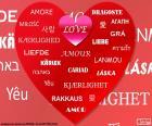 Serce miłość