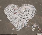 Serce z kamieni