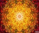 Kwiat mandala życia