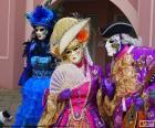 Weneckie klasyczny kostium