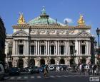 Układanka Opéra Garnier, fasada