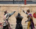 Trzech Rycerzy walki