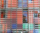 Fasada Torre Agbar, Barcelona