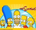 Cała rodzina Simpsonów