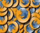 Układanka Logo programu Mozilla Firefox