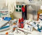 Układanka Materiał pierwszej pomocy