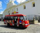 Układanka Antigua City Tour, autobus