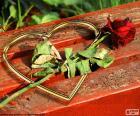 Serca i róża