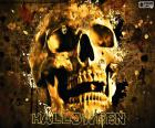 Czaszka Halloween