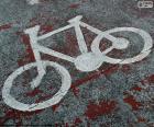 Malowane rowerów, sygnał