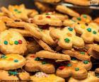 Zdobione ciasteczka, Boże Narodzenie