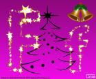 Litera F na Boże Narodzenie