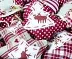 Ozdoby świąteczne, tkaniny