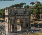 Łuk Konstantyna, Rome