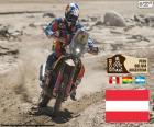 Matthias Walkner, mistrz motocyklowych Dakar 2018