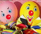 Klaun balony
