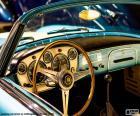 Deska rozdzielcza klasycznego samochodu