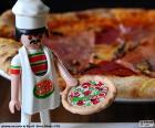 Układanka Playmobil pizza