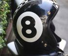 Numer osiem biały