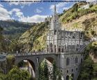 Bazylika Las Lajas jest świątynia i bazylikę dla kultu chrześcijańskiego, znajduje się w Ipiales w departamencie Nariño, Południowej Kolumbii
